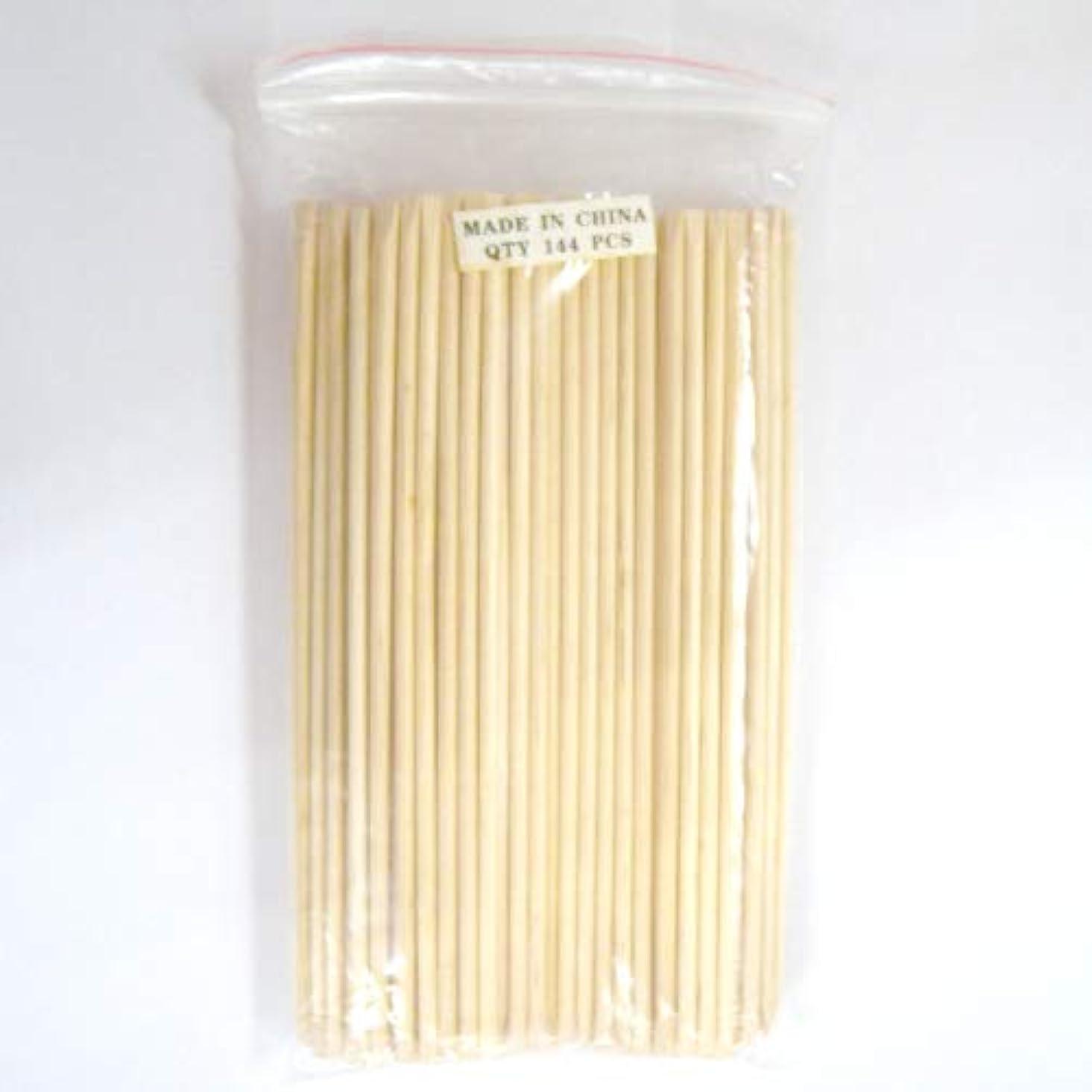 土器テンポ出席【ネコポス送料無料】ネイル用ウッドスティック 144本セット