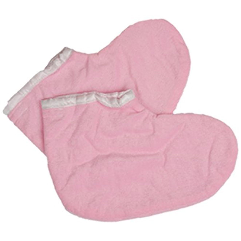 取り替える大統領謙虚パラフィンパック用フットグローブ 全2色 (ピンク) パラフィンパック パラフィン フットグローブ (フット用)