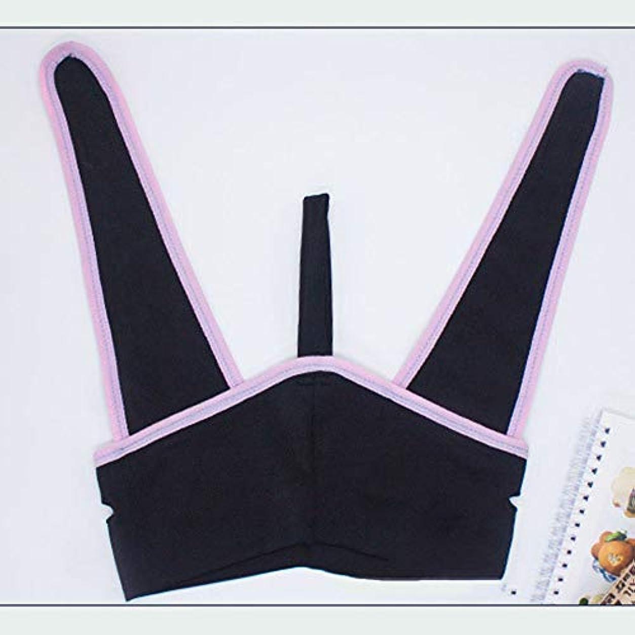 極貧防ぐ旅フェイスリフティング包帯、フェイスリフティングマスク/フェイスリフティングマスク/マスク包帯リフティング引き締めフェイスリフト二重あご女性抗脂肪,L