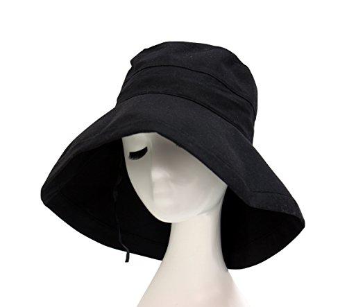 PARACHASE 帽子 ハット UVカット 紫外線対策 レ...