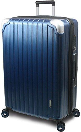 【SUCCESS サクセス】 スーツケース 3サイズ 【 大型 76cm / ジャスト型 70cm / 中型 65cm 】 超軽量 TSAロック搭載 【 プロデンス コーナーパットモデル】 (ジャスト型 Jサイズ 70cm , ディープシーヘアライン )