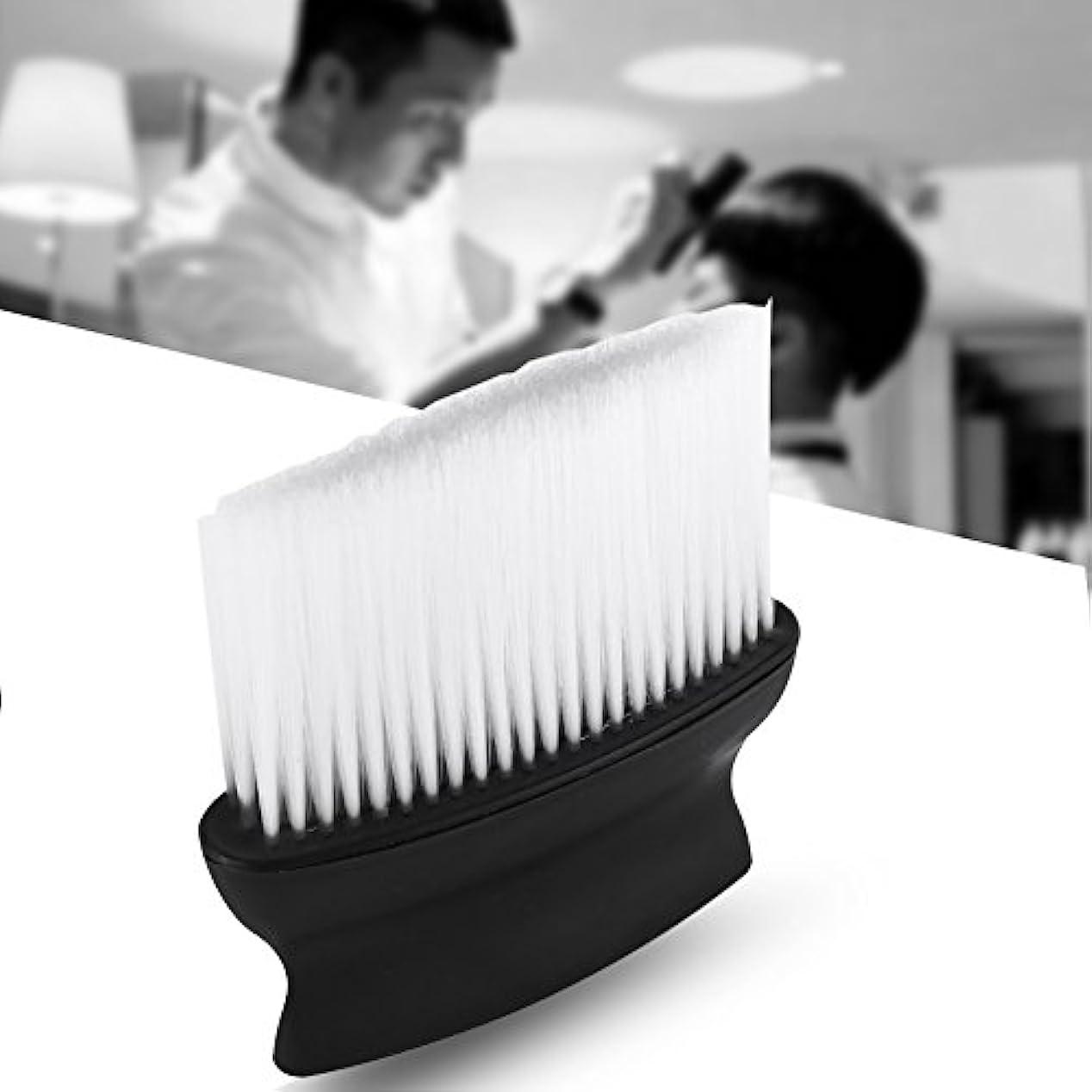 逆さまになめらか先サロンブラシ 髪ブラシ 髪掃除 シェービングブラシ 理髪店 バッガーヘア シェービングブラシ 理髪師ヘアスタイリングスタイリストサロン