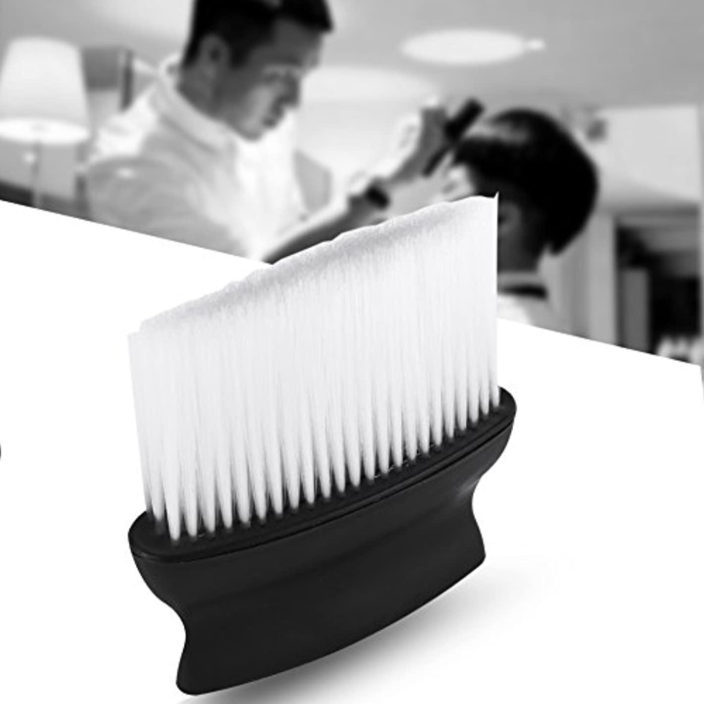 割るミケランジェロ算術サロンブラシ 髪ブラシ 髪掃除 シェービングブラシ 理髪店 バッガーヘア シェービングブラシ 理髪師ヘアスタイリングスタイリストサロン