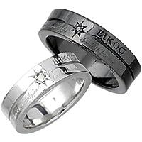 KEN BLOOD ケンブラッド シルバー ペア リング 指輪 ダイヤモンド メッセージ 7~23号 KR-205-P