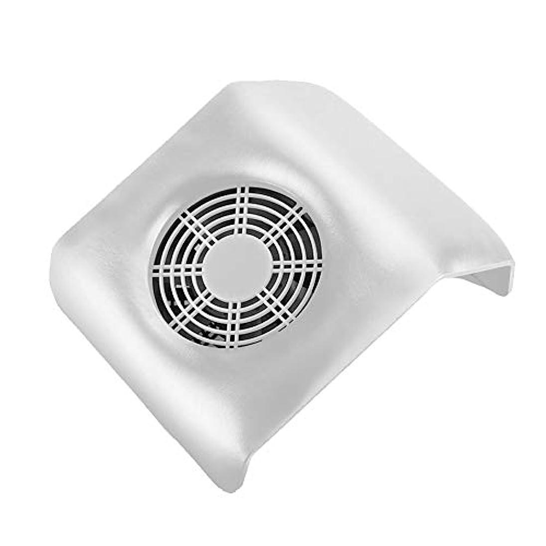 ネイル 集塵機 ネイルアート掃除機 ネイルマシン ネイルダスト ダストクリーナー ネイル機器 集塵バッグ付き ホワイト