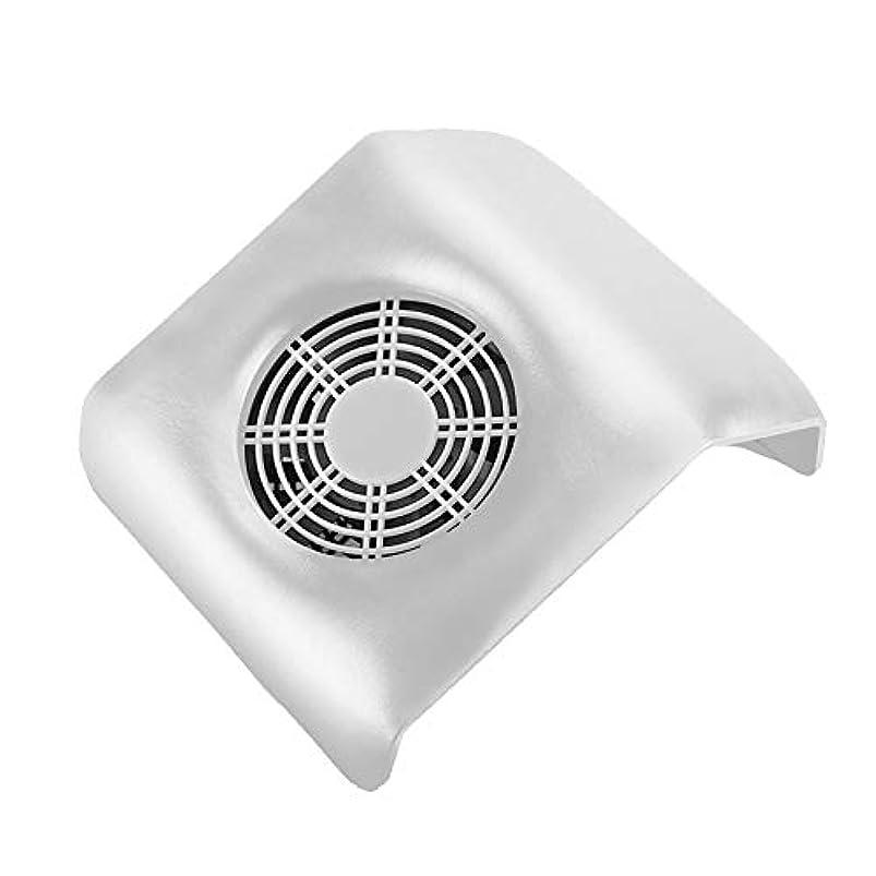 何手を差し伸べる取り囲むネイル 集塵機 ネイルアート掃除機 ネイルマシン ネイルダスト ダストクリーナー ネイル機器 集塵バッグ付き ホワイト