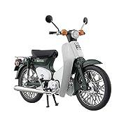 1/12 完成品バイク Honda スーパーカブ50 グリーン