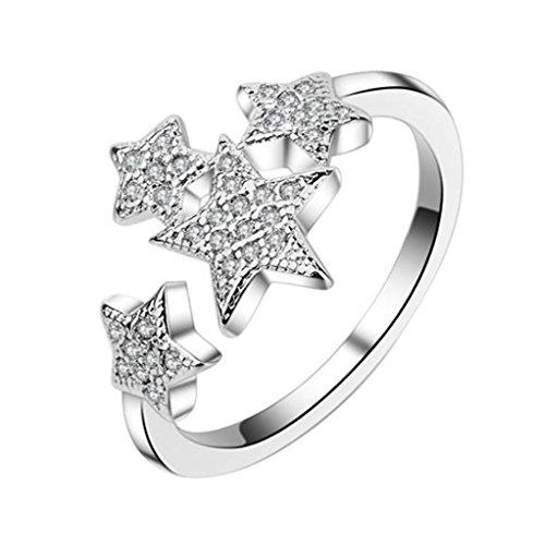 [해외]Doitsa 링 반지 프리 사이즈 조절 생일 기념일 결혼식 약혼 손 장식 선물 패션 간단한 여성/Doitsa ring ring Free size adjustable birthday anniversary wedding engagement hand decorations gifts fashion simple women`s