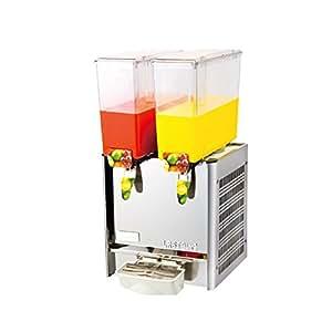 CGOLDENWALL 9L 業務用ジュース機 ジュース飲料機 ダブルシリンダー 高速冷却 インテリジェント ジューサー 商売繫盛 (110V)