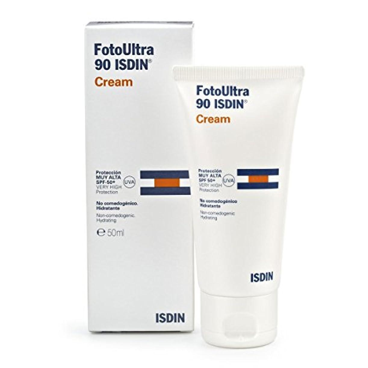 周囲プット米国Isdin Fotoultra 90 Cream 50ml [並行輸入品]