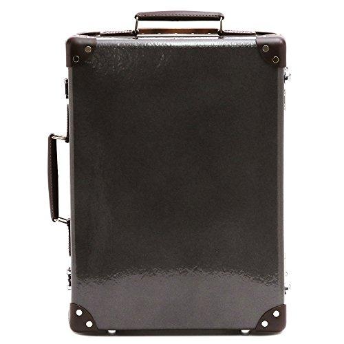 (グローブトロッター)GLOBE TROTTER スーツケース 2輪 ROYALE ロワイヤル 28L 18インチ GTROYSMBR18TC/CAVIAR GRAY [並行輸入品]
