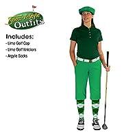 ゴルフKnickersレディースOutfit–Matchingゴルフキャップ–ライム 10