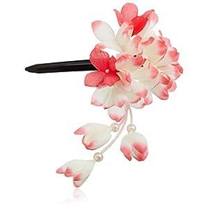 [粋花]Suikaあじさい風和装髪飾り149 赤