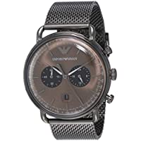 Emporio Armani Men's AR11141 Chronograph Quartz Grey Watch