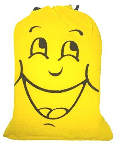 昔 ながらの 笑い袋 (イエロー)