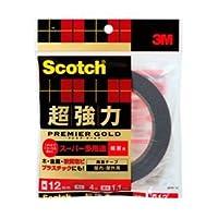 (業務用セット) スコッチ 超強力両面テープ プレミアゴールドスーパー多用途(粗面用) 1巻 型番: