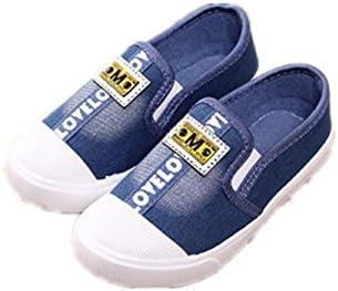 hommes / femmes by0ne enfants toile basket glisse sur sur sur un mocassin les bébés garçons filles de façon occasionnelle de chaussures (toddler / enfants) de nombreux styles moins cher que le prix de vente des rw3 7318 chaud a33a89