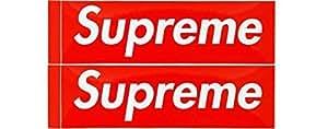 2枚セット 定番 SUPREME(シュプリーム)ステッカー ボックスロゴ