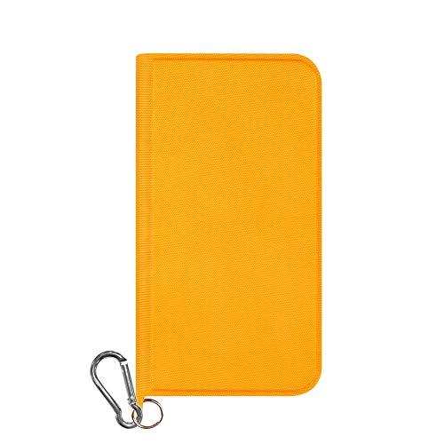 iPhone XR [FlipNote Wild] 撥水、耐衝撃フリップノートケース オレンジ Simplism TR-IP18M-FNW-OR