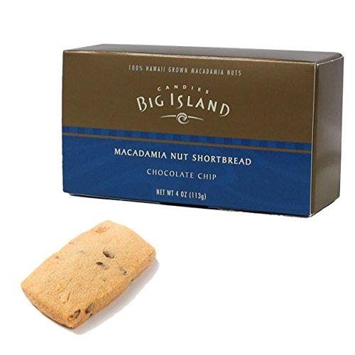 (ビッグアイランドキャンディーズ) マカダミアナッツショートブレッド チョコレートチップ 113g