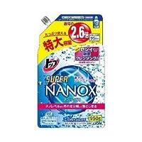 (ライオン株式会社)トップ スーパーNANOX(ナノックス) つめかえ用 特大 950g(お買い得3個セット)