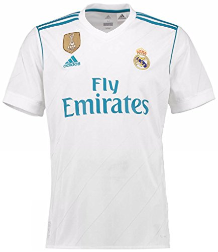 adidas(アディダス) レアル・マドリード ホームユニフォーム 2017/18 [FIFAクラブW杯チャンピオンバッジ & リーガバッジ] [10 モドリッチ] [サイズ:インポートXXL] Real Madrid Home Shirt 2017/18 [FIFA CWC Champions Badge & LFP Badge] [10 Modric] [Size:Import XXL] [並行輸入品]