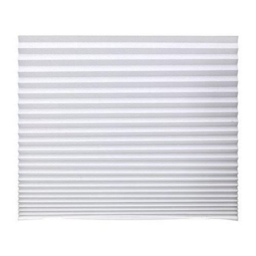 IKEA SCHOTTIS プリーツブラインド ホワイト 90×190cm ...