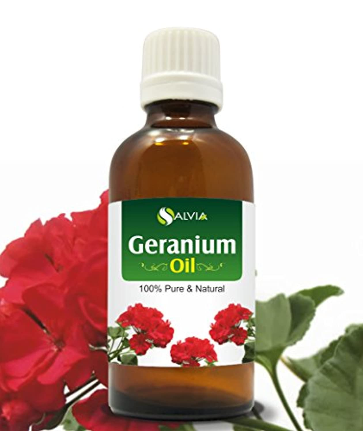 ガラガラ埋め込む時計GERANIUM OIL 100% NATURAL PURE UNDILUTED UNCUT ESSENTIAL OIL 30ML