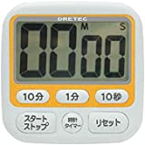 DRETEC 時計付大画面タイマーT-140OR
