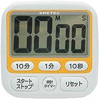 ドリテック 時計付大画面タイマーT-140OR