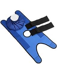 Intercoreyコンパクトサイズ再利用可能ヘルスケア膝頭脚筋肉スポーツ傷害救済痛みアイスバッグ無毒アイスパック包帯付き