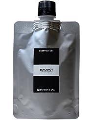 (詰替用 アルミパック) ベルガモット 50ml インセント アロマオイル AEAJ 表示基準適合認定精油