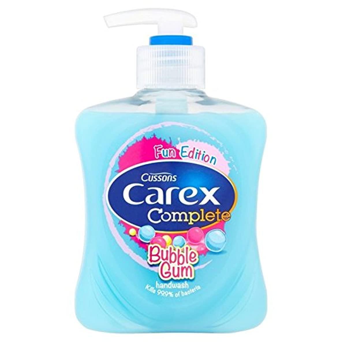 スゲ子供手洗いバブルガムの250ミリリットル x2 - Carex Kids Handwash Bubblegum 250ml (Pack of 2) [並行輸入品]