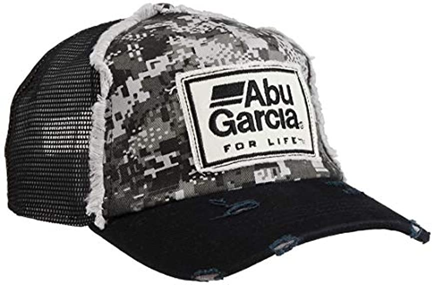 商品低い海岸アブ デジタルカモダメージメッシュキャップ Abu Digital Camo Damage Cap