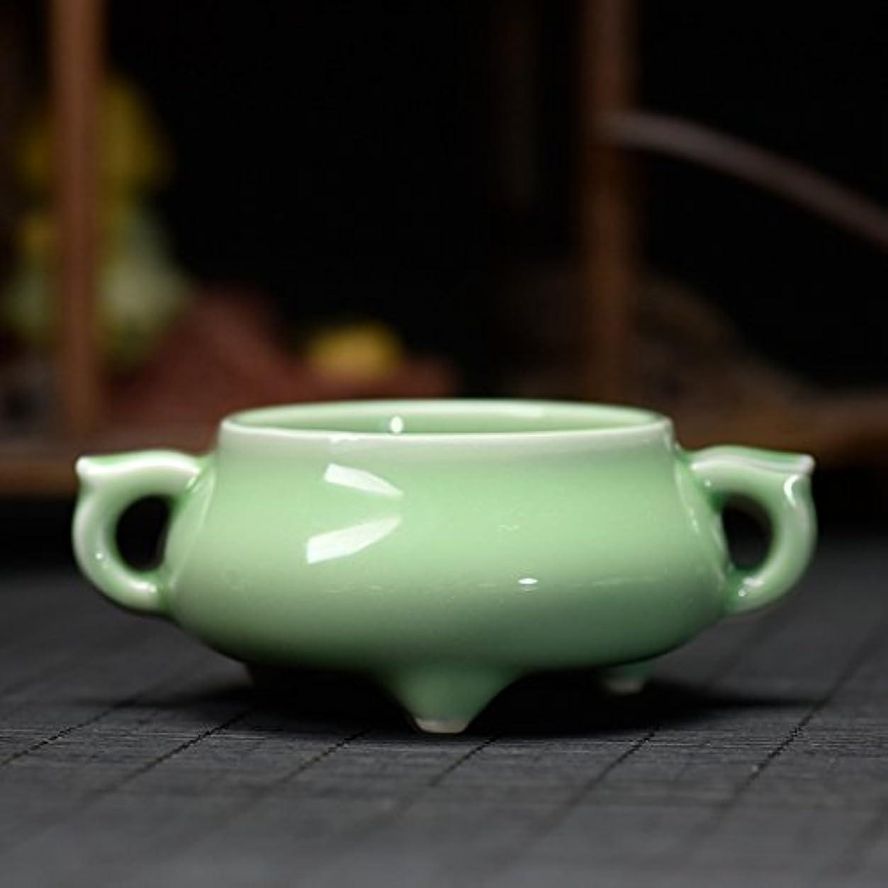 (ラシューバー) Lasuiveur 陶磁器 香炉 香立て 渦巻き線香 線香立て お香立て