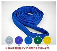 テザック ブルースリングソフト N型(エンドレスタイプ) 1.6t×3.5m sn-46x3.5 (青色)