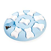 Nina Ottosson by Outward Hound Puppy Smart Treat Puzzle Toy- Stimulating Interactive Dog Game for Dispensing Treats