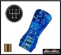 ルーク シフトノブ 泡 100mm ブルー いすゞ 07エルフ用MM75-5705-BL