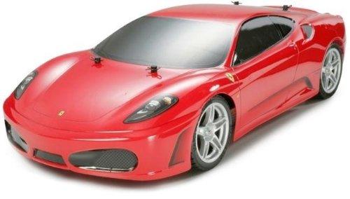 1/10 電動RCカーシリーズ No.343 1/10 RCC フェラーリ F430 (TT-01) 完成ボディ仕様 58343