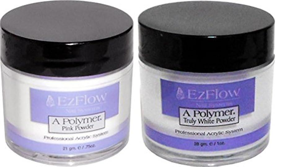 シニス提案負荷Ez Flow(イージーフロー) Aポリマー21g (2個???) ピンク+トゥルーリーホワイト