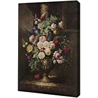 Renaissance Floral by Cho – ギャラリーWrapped Gicleeキャンバスアートプリント – Ready To Hang 11
