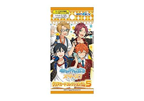 【特典】あんさんぶるスターズ! クリアカードコレクションガム5 初回限定版 16個入りBOX (食玩)