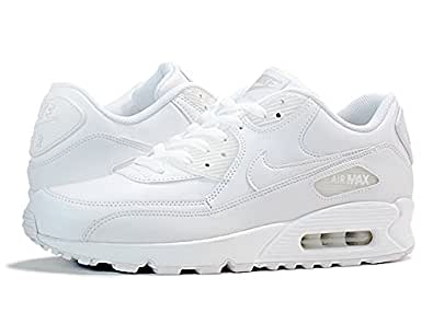 [ナイキ] NIKE AIR MAX 90 LEATHER WHITE [並行輸入品]