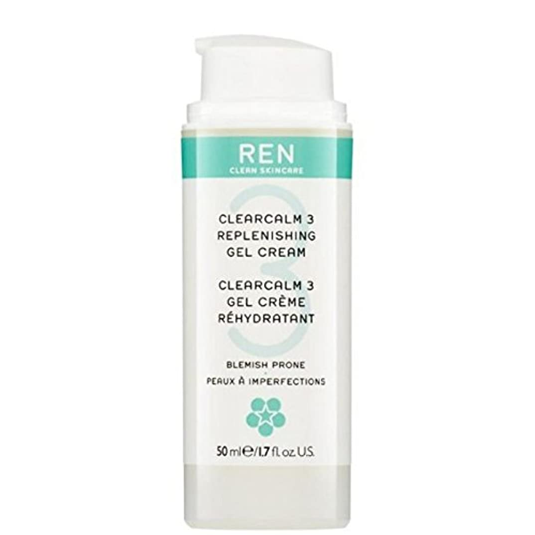 混雑信頼性ライドREN Clearcalm 3 Replenishing Gel Cream (Pack of 6) - 3補給ゲルクリーム x6 [並行輸入品]