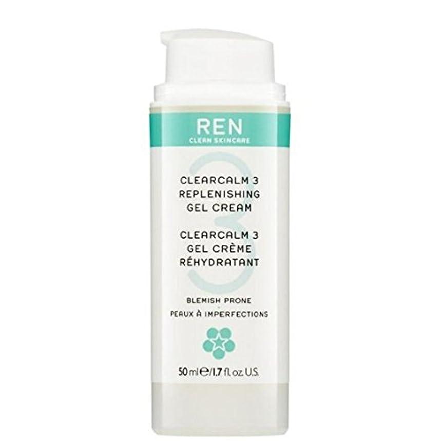 集まるビルアジテーションREN Clearcalm 3 Replenishing Gel Cream - 3補給ゲルクリーム [並行輸入品]