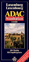 ADAC Stadtplan Luxemburg 1 : 15 000: Mit Hesperange, Sandweiler und Walferdange. Mit Cityplan. Mit Umgebungskarte