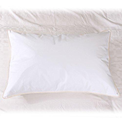 西川 ネックサポートピロー ダウンピロー 43×63cm ダウン85% 詰め物重量0.5kg 日本製 SLEEP FIT 国内洗浄羽毛を使用 ホテルテイストの枕
