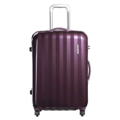 [アメリカンツーリスター] AmericanTourister スーツケース PRISMO プリズモ スピナー65 無料預入受託サイズ 保証付 保証付 50L 65cm 3.8kg 41Z*91002 91 パープル