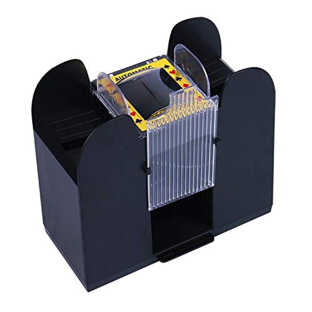 グラディス白鳥文法Monland ポーカーカードや自動カードのシャッフル、電気ボード ゲームカードのシャッフル装置、カードの六つのデッキは秒単位でシャッフルします