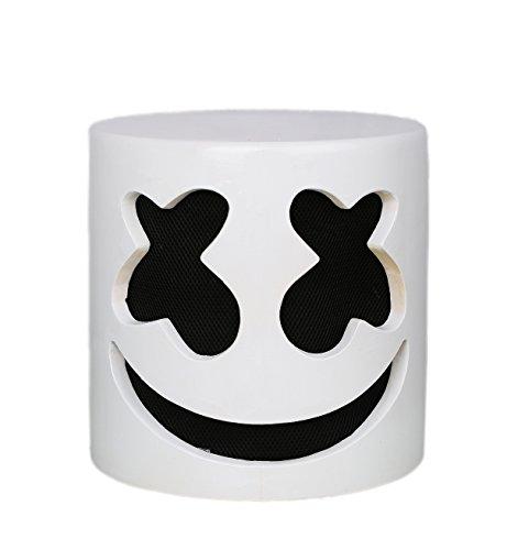Xcoser マシュメロ マスク marshmello コスプレ グッズ DJ マスク 人気商品 ライブ マスク ラテックス コスチューム 道具  ハロウィン
